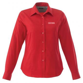 Craftsman Women's Button Down - Red