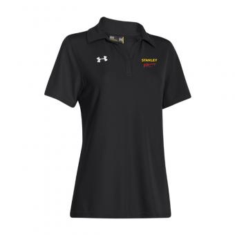 Stanley Racing Women's UA Performance Polo - Black