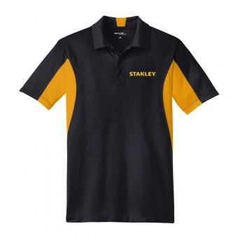 Men's Stanley Sport Tek Side Blocked Micropique Polo