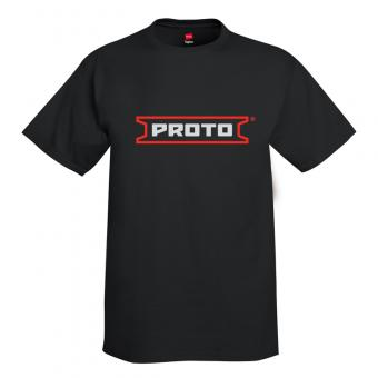 Proto Ultra Cotton 6 oz. T-Shirt - Black