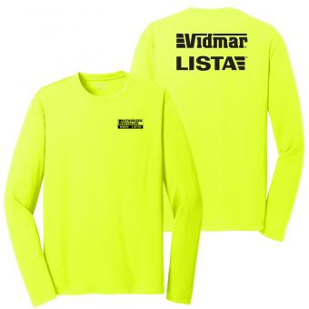 Authorized Installers High Visibility Long Sleeve Shirt - Safety Yellow