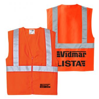 Authorized Installers High Visibility Safety Vest - Orange